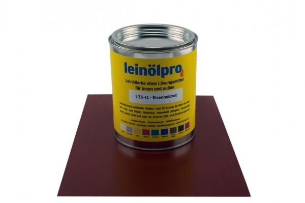 Leinölpro L35_Eisenoxidrot