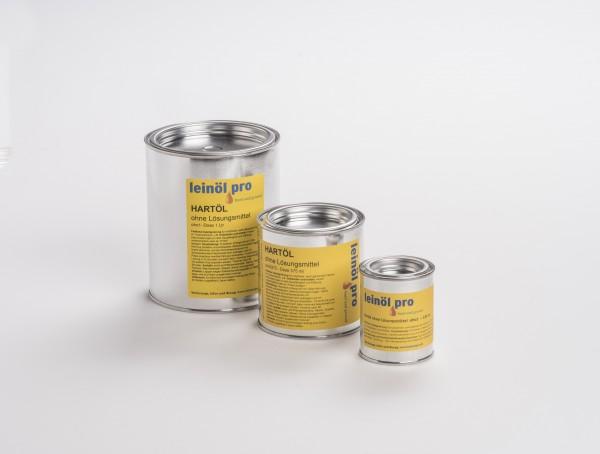 Leinölpro oho_Hartöl ohne Lösemittel