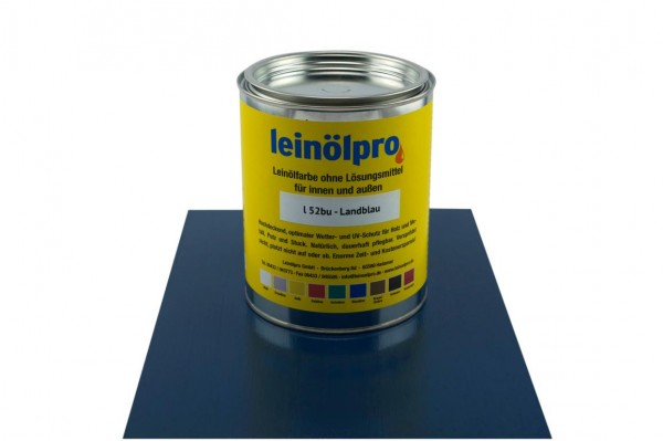 Leinölpro L52_Landblau
