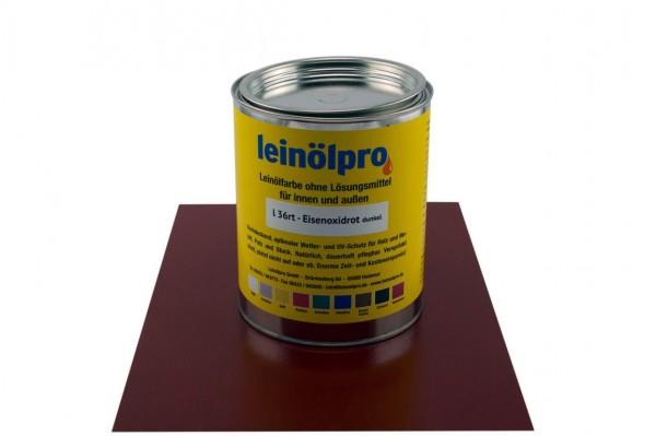 Leinölpro L26_Eisenoxidrot dunkel