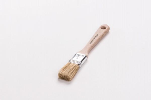 Leinölpro wpfh25_Flachpinsel hell 25 mm