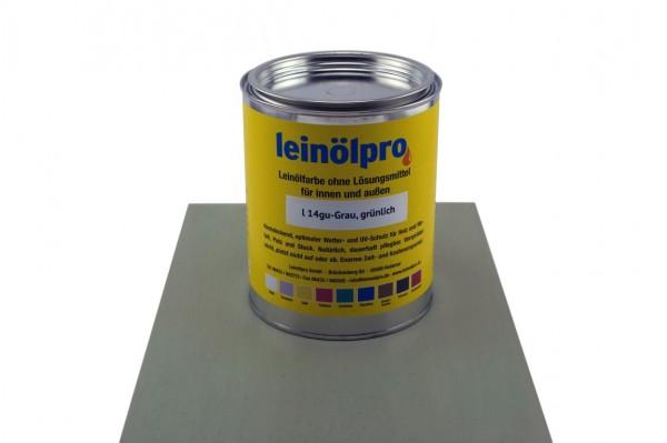 Leinölpro L14_Grau, grünlich