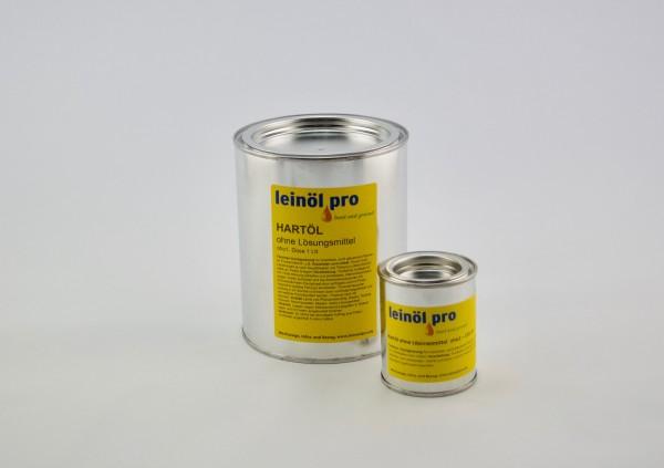 Hartöl ohne Lösemittel, Blechdöschen 125 ml