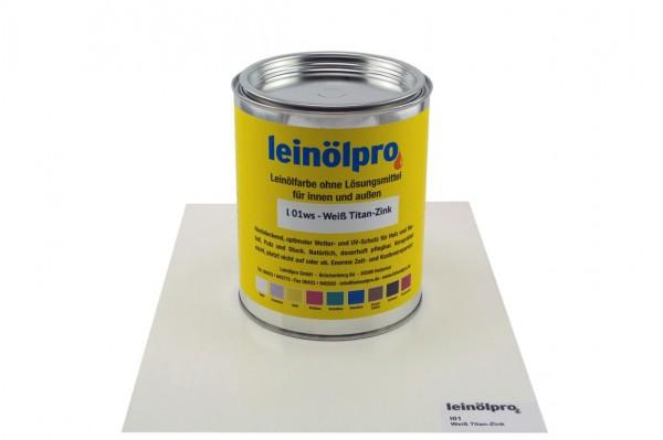 Leinölpro L01_Weiß Titan-Zink