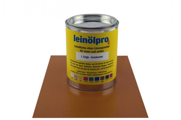 Leinölpro L26_Goldocker