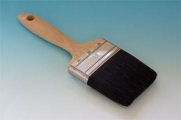 Profi-Lackpinsel schwarz 80 mm