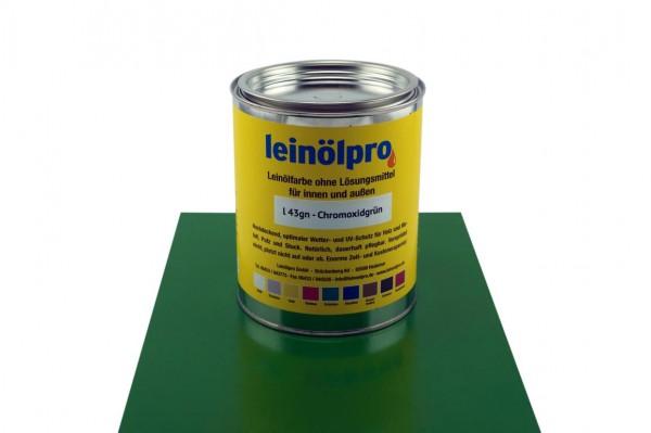 Leinölpro L43_Chromoxidgrün