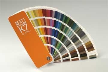 Farbfächer RAL K7 classic
