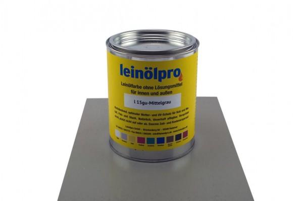 Leinölpro L15_Mittelgrau