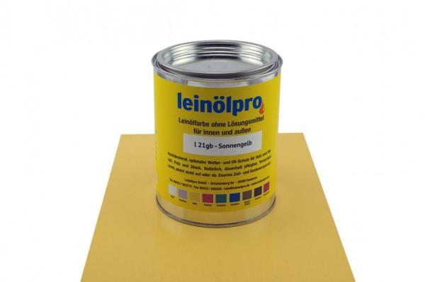 Leinölpro L21_Sonnengelb