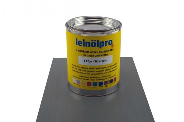 Leinölpro L17_Silbergrau