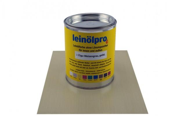Leinölpro L13_Weizengrau, gelblich