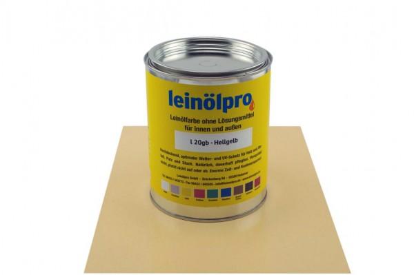 Leinölpro L20_Hellgelb
