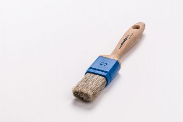 Leinölpro wpfm40_Flachpinsel metallfrei 40mm